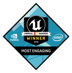 UnrealE3Awards_2018_Most_Engaging_WINNER